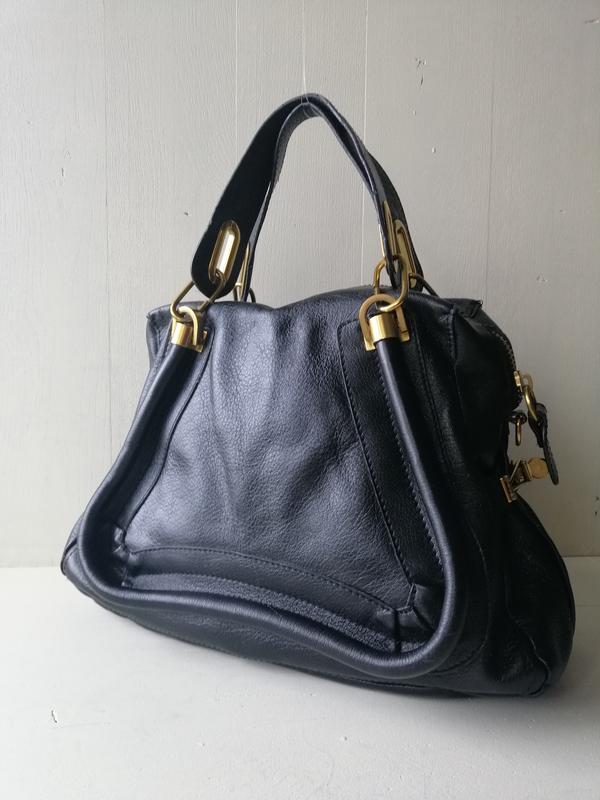 1108641cc5c4 ... Сумки · С короткими ручками · Chloe вместительная кожаная сумка1 ...