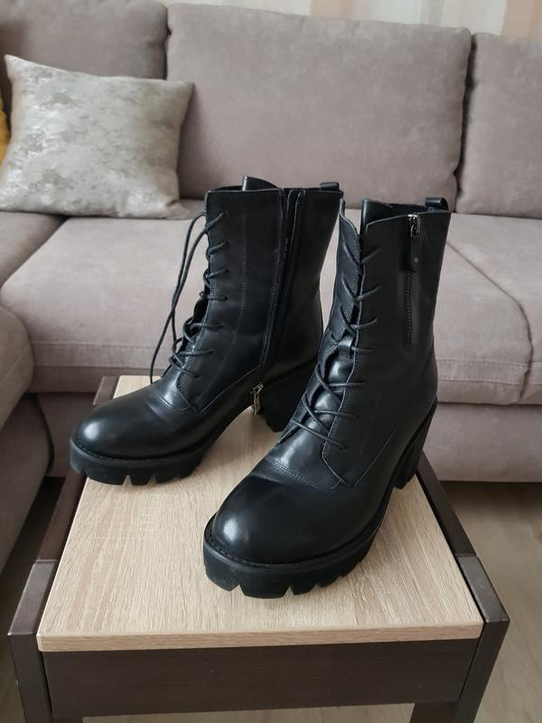 Ботинки женские зима натуральная кожа на цигейке Grado, цена - 1200 ... 19d18c1326a