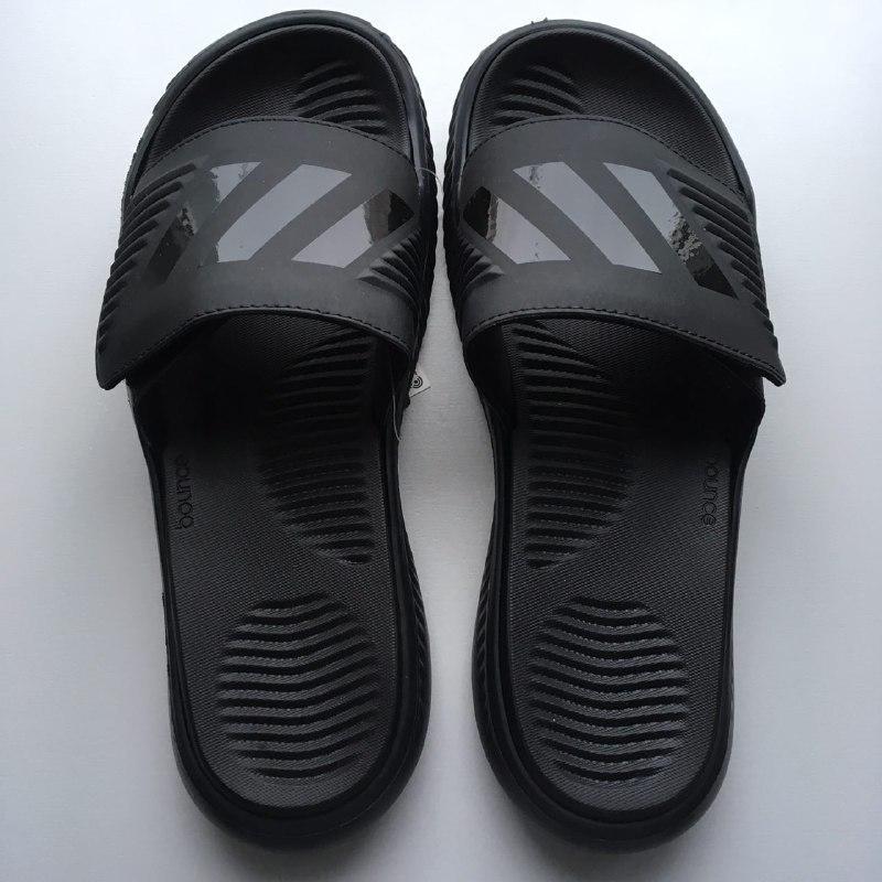 08062313 Новые шлепки шлепанцы сланцы adidas alphabounce slide оригинал 28,5 см1  фото ...