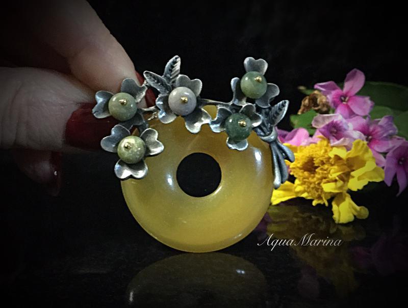 Новая красивая брошь-кулон из яшмы и сердолика, цена - 100 грн, #19136672, купить по доступной цене | Украина - Шафа