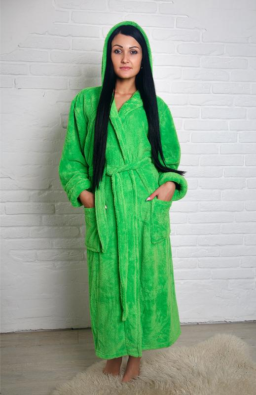d5a9d1b78251 Мягкий,плюшевый махровый халат с капюшоном, цена - 699 грн ...