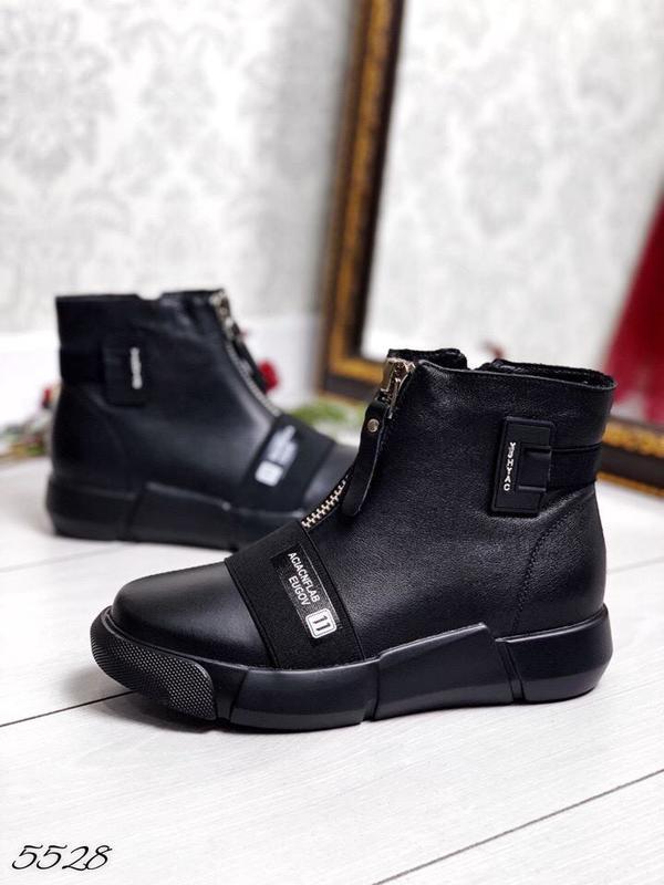 8771f785907f0b Стильные демисезонные ботинки, натуральная кожа - 36,37,38,39,401 фото ...