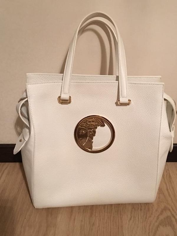 25b4bbe0a01b Продам новую оригинальную кожаную сумку итальянскoгo брeндa клаcса люкс  vеrsасe.1 ...