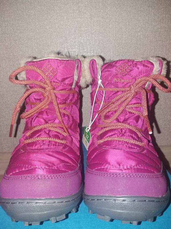 6081ffcc1 Columbia водонепроницаемые зимние короткие ботинки omni-heat1 фото ...
