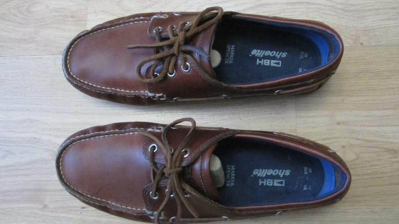 c43845d8 Продам мужские новые кожаные туфли - мокасины marks & spencer р-р 451 фото  ...
