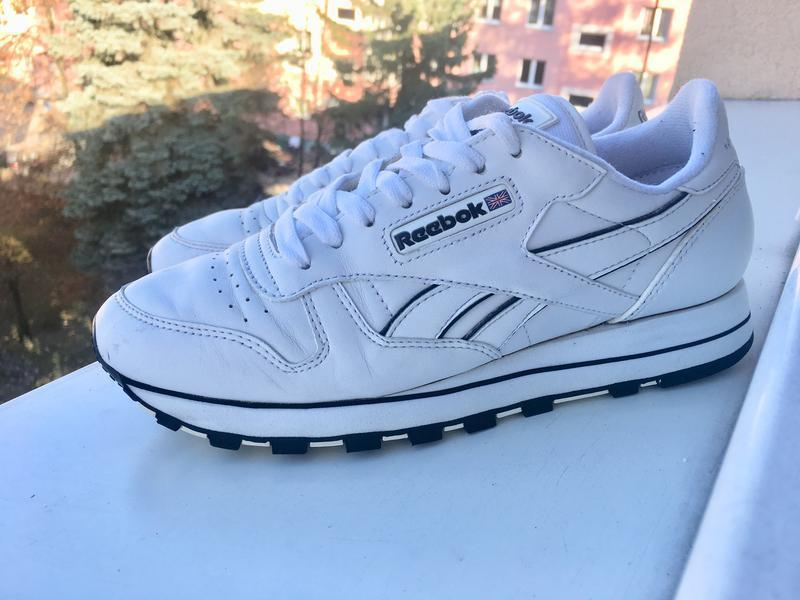 5007a04a22a941 Білі шкіряні кросівки reebok classics classic leather original1 фото ...