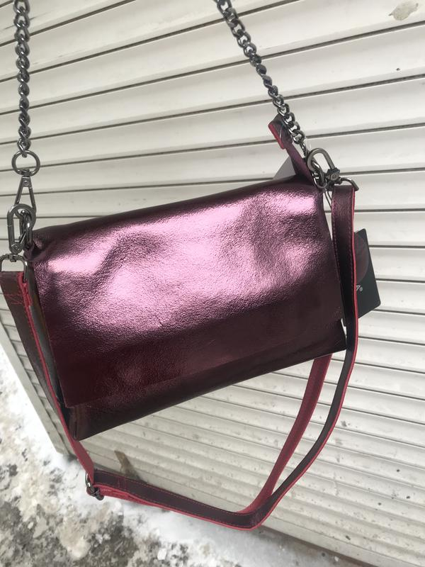5090564b0d7f Кожаная сумка сумка кожаная через плечо кроссбоди Италия, цена ...