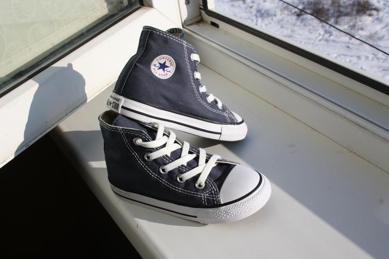 Высокие кеды converse all star 24 размер (оригинал) Converse, цена ... c2a546be6dd