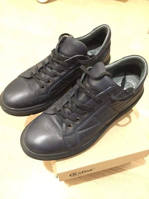Мужске кеды кроссовки casual - kadar кожаные1 ... 60c16ba849c4a