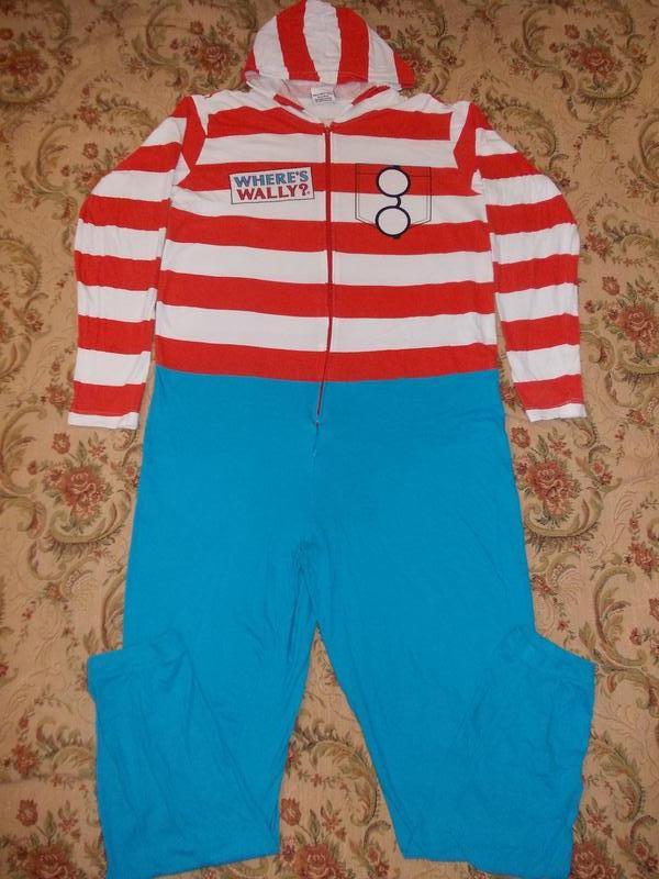 Пижама слип кигуруми комбинезон клоун р.м1 ... 8c194b5a7ad3b