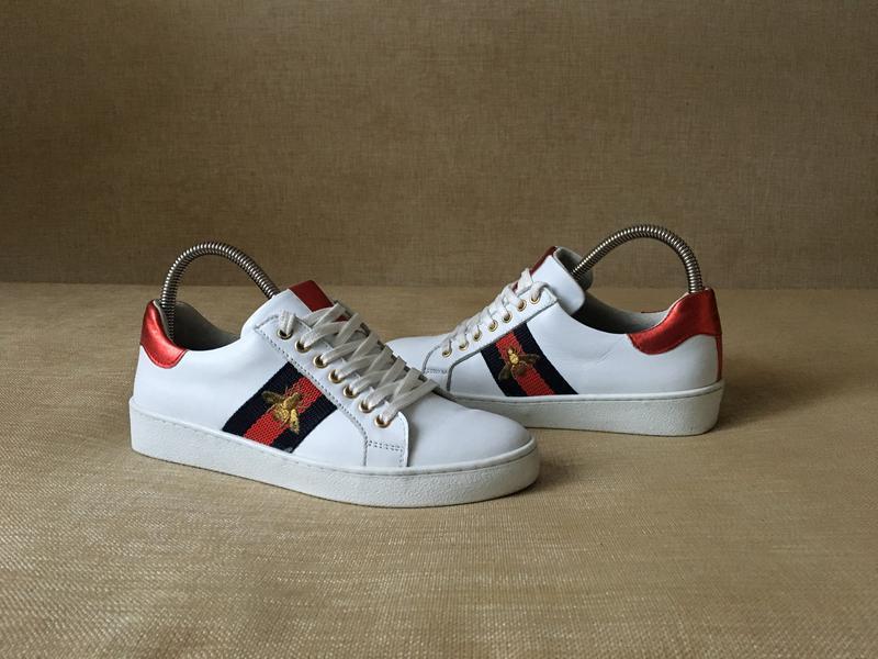 Кожаные кроссовки 98a65fafc68fe
