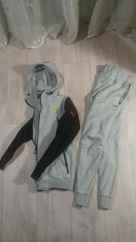 Спортивный костюм puma ferrari оригинал,штаны,толстовка,худи Puma ... b1f7b7af36c