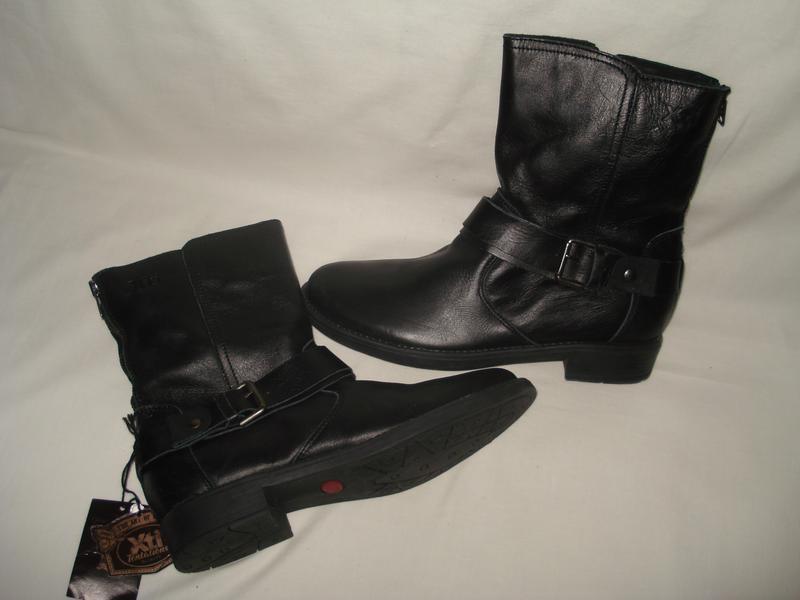 38.5-39 р.  25 см. новые! крутые фирменные демисезонные кожаные ботиночки1  ... 256307efb47