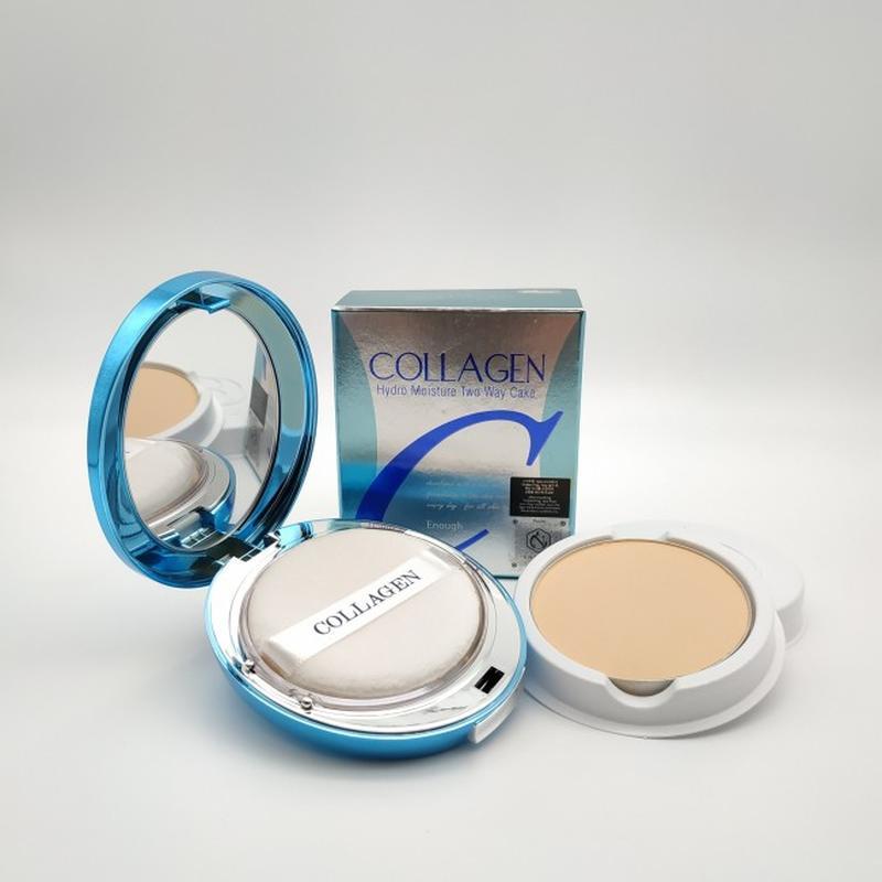 Увлажняющая пудра с коллагеном enough collagen hydro moisture two way - купить по доступной цене в Украине   SHAFA.ua