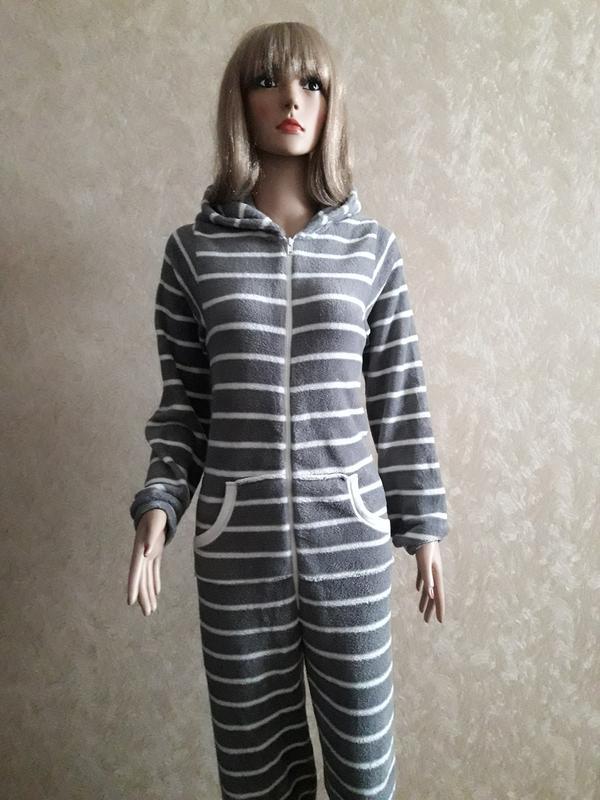 Кигуруми слип пижама комбинезон в полоску Love To Lounge 2f41dfc239823