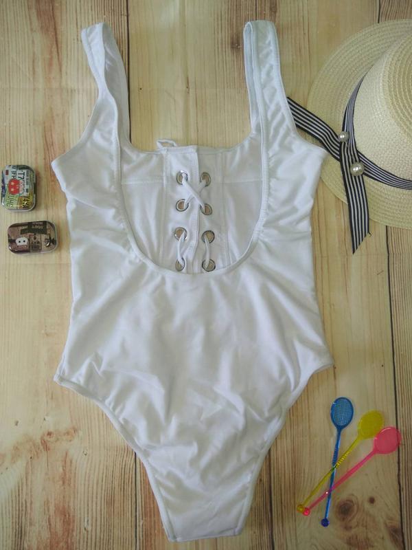 1608af0d24095 Сексуальный монокини купальник белый цвет, цена - 455 грн, #19389252 ...