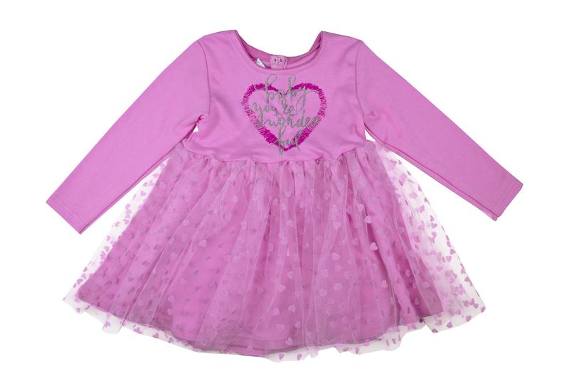 a060ad198b2 Детское трикотажное платье с фатином