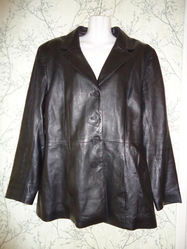 6e6a1555 Кожаная женская куртка френч пиджак ice cube в идеальном состоянии р ...
