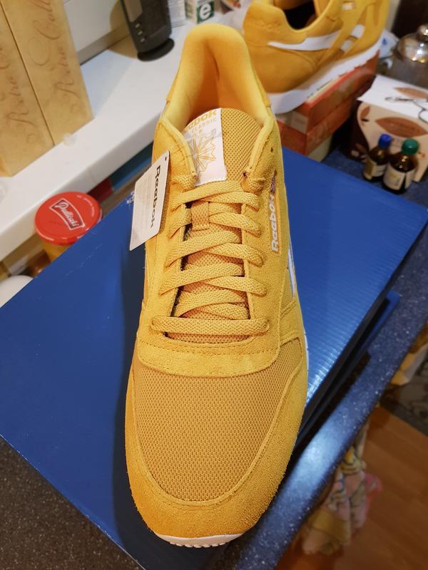 4f25bdc2 Reebok оригинал кожаные новые фирменные кроссовки 46 по стельке 30,5 см1 ...