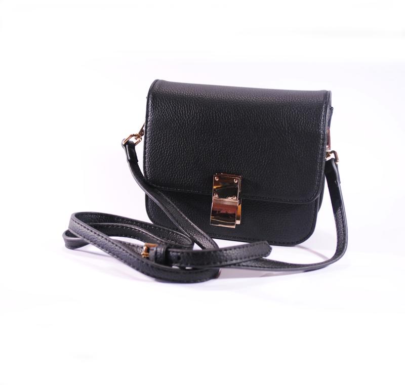 a61b49c7ea13 Маленькая черная сумочка через плечо Турция, цена - 300 грн ...