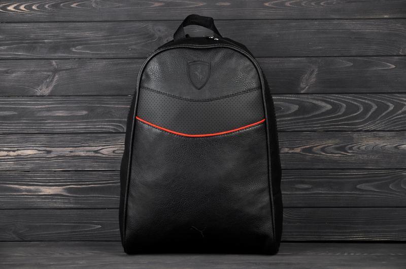 006f5f6433a1 Рюкзак ferrari (феррари) черный (реплика) кож зам, цена - 480 грн ...