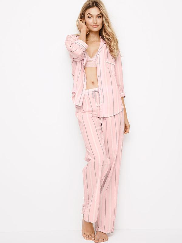 4fe37dadb46ae Victoria's secret фланелевая пижама для сна victorias secret рубашка  виктория сикрет1 фото ...
