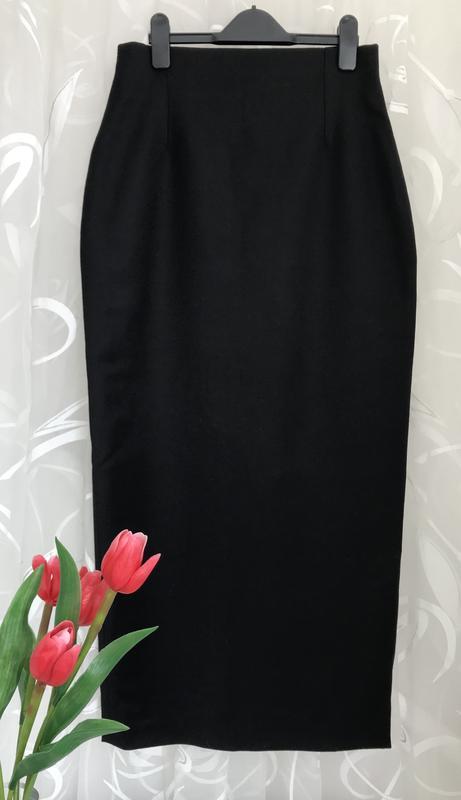 6921af9790d Безупречная ♥ 😎♥️шерстяная длинная юбка карандаш италия