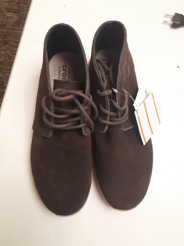 a1884d5c Замшевые деми ботинки crocs m9 Crocs, цена - 950 грн, #19491695 ...