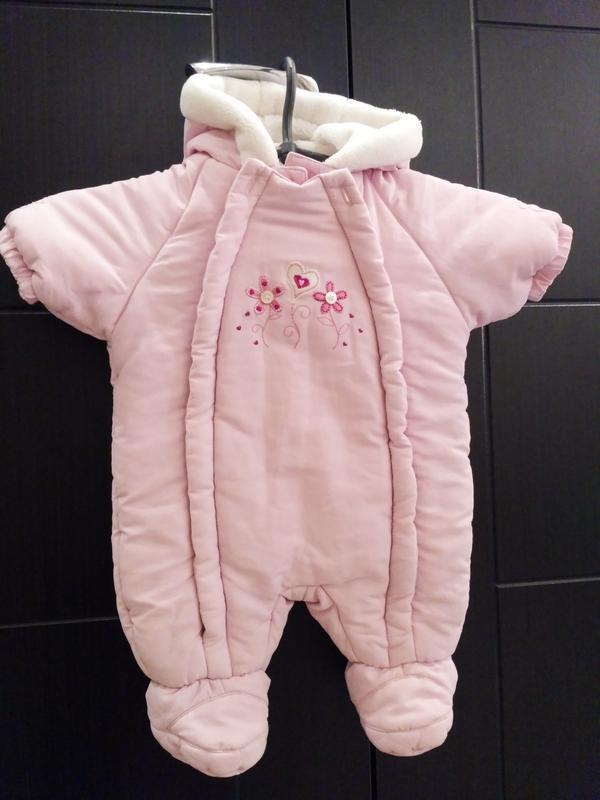 Ніжно рожевий комбінезон для дівчинки1 ... ef4683730c86c