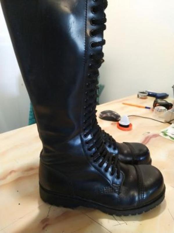 Чоботи ботинки сапоги на шнуровке берцы гади undercover steel Steel ... a8ae716550015