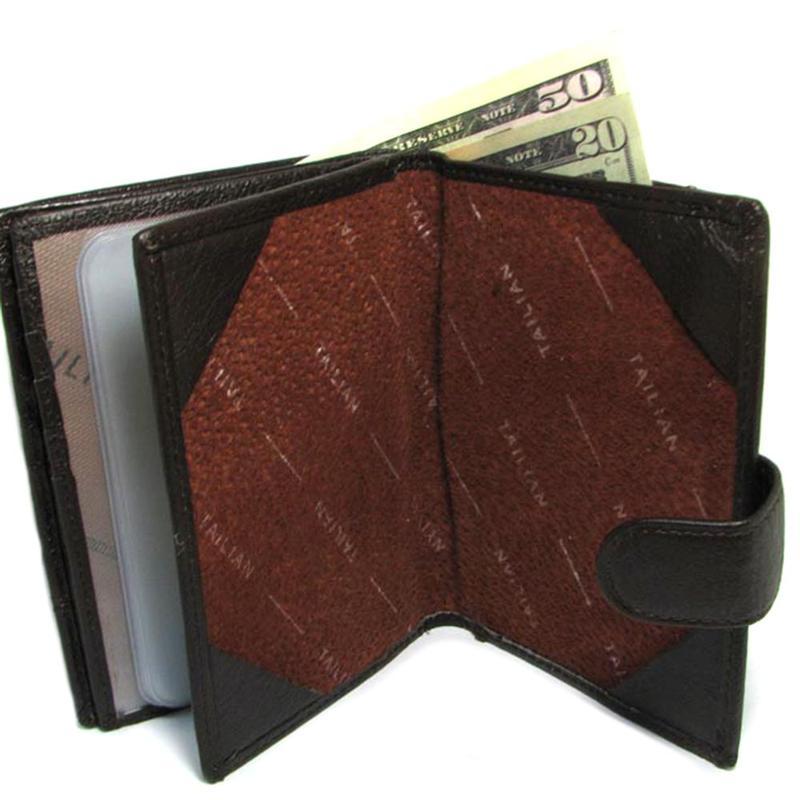 1ef26e37efee ... Мужское кожаное портмоне tailian t265d-12h09-b black с отд. для  паспорта5 фото