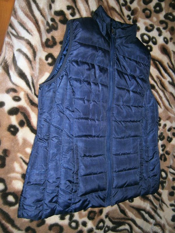 Безрукавка тепла жіноча maxi blue1 ... 1fba42d79bbaa
