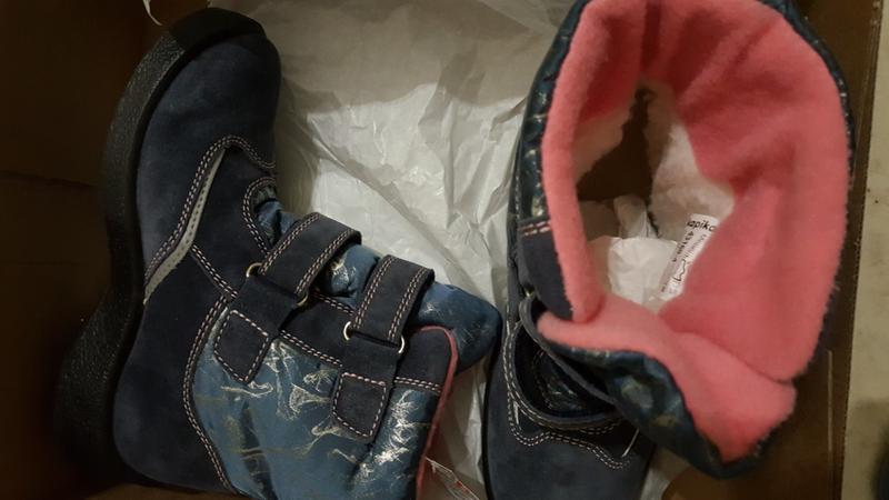 0868b7a38 Ботинки капика, шерсть, кожа, мембрана, р. 33, 34. Kapika, цена ...