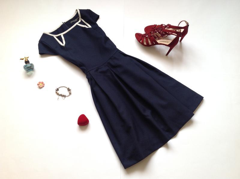 1bd0b2286f5f Темно-синее платье с пышной юбкой dorothy perkins. обнова! смотрите мои  объявления! (Dorothy ...