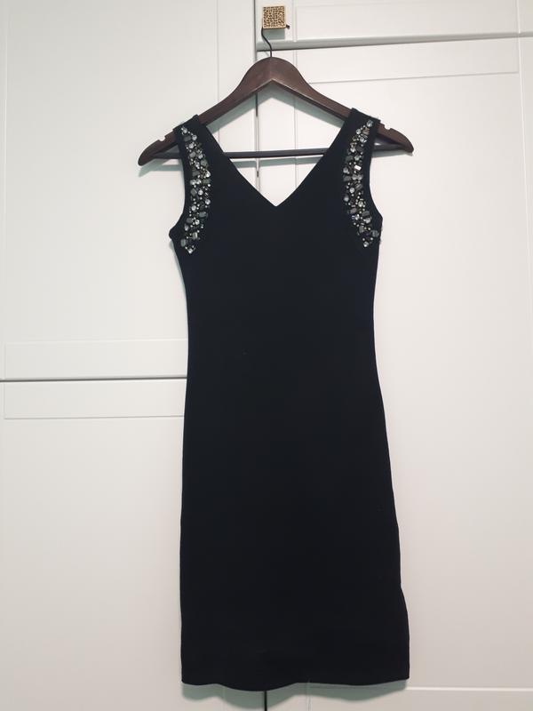 Чорне плаття з камінням1 ... 1391a98aab9c5