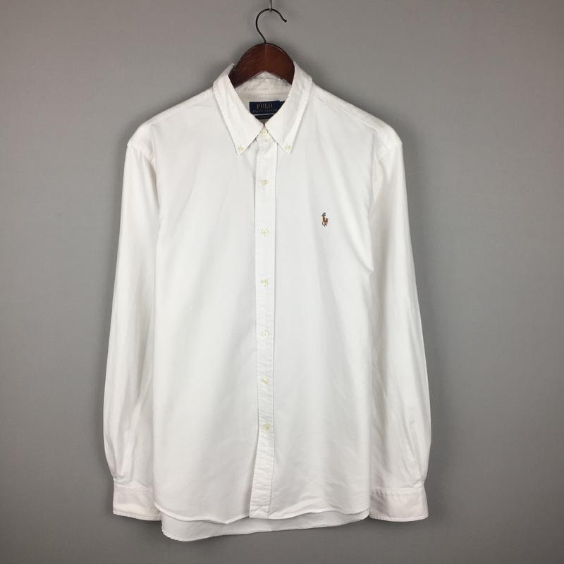 ac1fca96948 Белая хлопковая рубашка ralph lauren новая коллекция мужская чоловіча  сорочка ральф1 фото ...