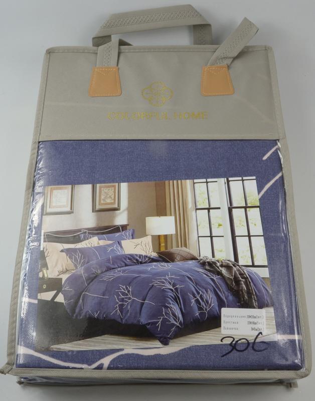 Комплект постельного белья евро 220 на 240 фланель в подарочной упаковке  сумка1 ... c4bb0941f5e43