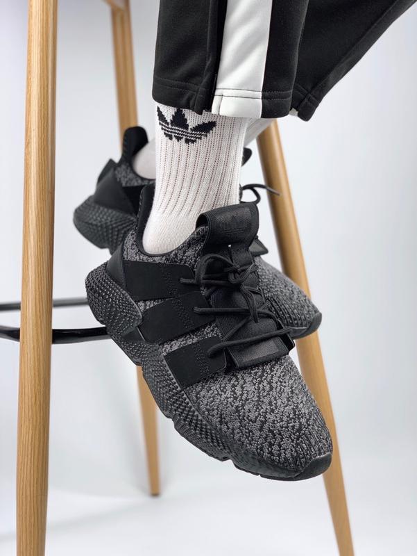 953854af753b81 Шикарные мужские кроссовки adidas prophere black (весна/ лето/ осень)1 фото  ...