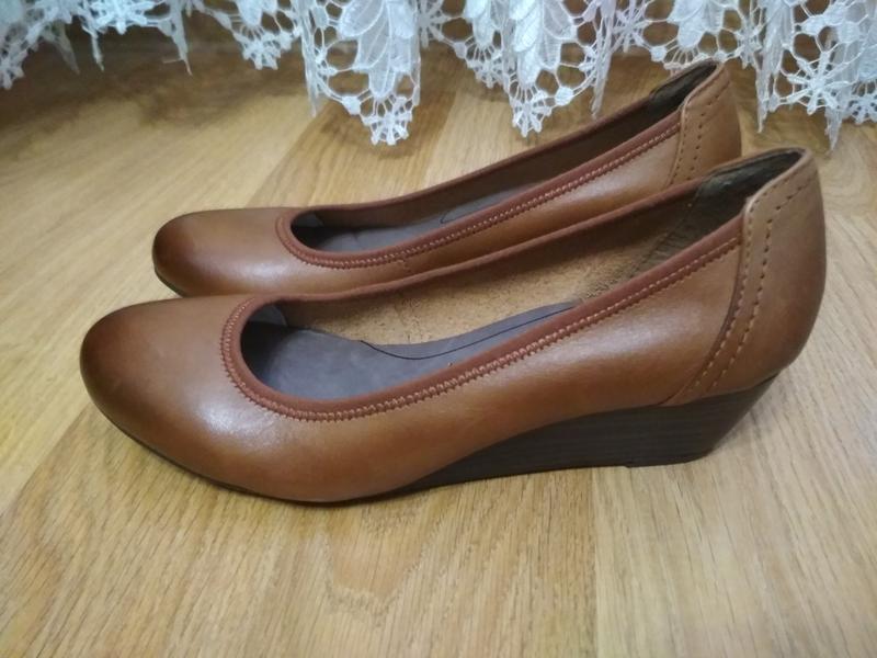 Мега зручні шкіряні туфли туфлі 38р tamaris Tamaris 4a2f6f35c7053