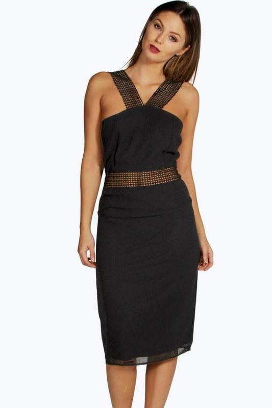 9ef65e1b4e8 Идеальное черное платье сукня boohoo m Boohoo