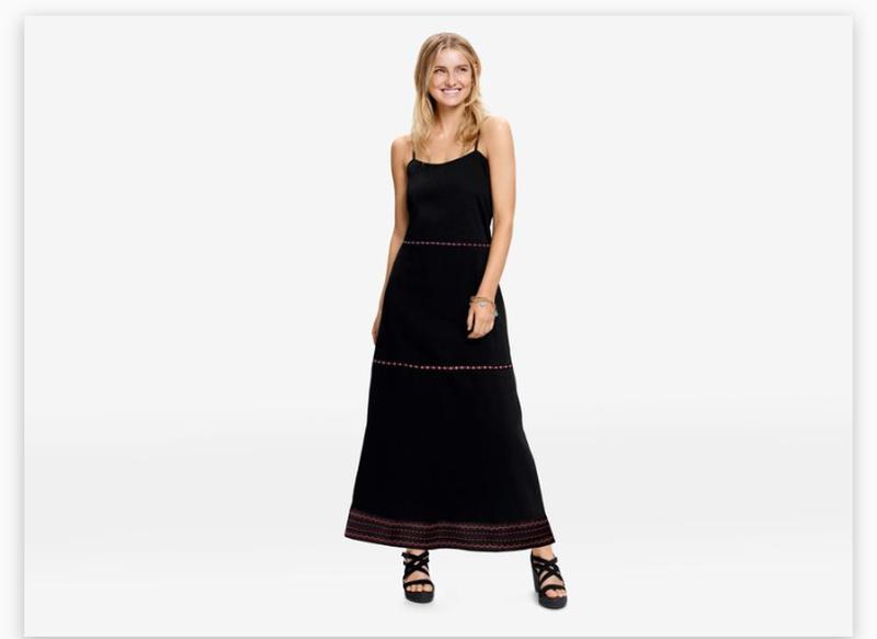 4a693f1d10b Шикарное длинное платье сарафан в этно стиле esmara by heidi klum1 ...