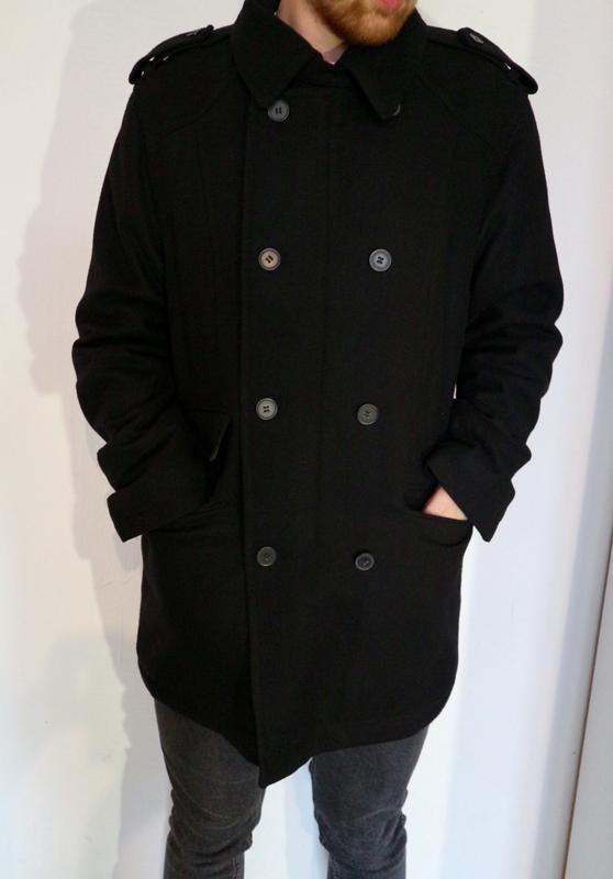 5b8a2c6b012b Чёрное мужское пальто top secret Top Secret, цена - 400 грн ...