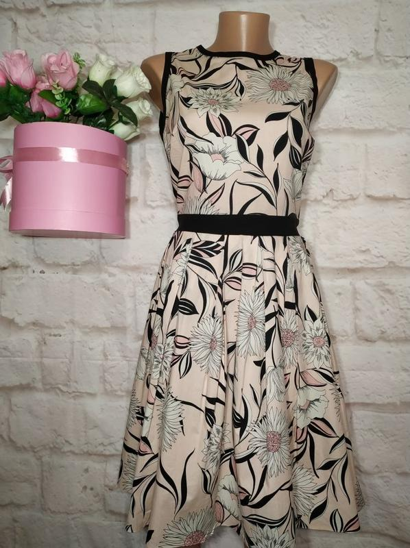 4402a62a4747 Платье миди коттоновое пышная юбка р 12 dorothy perkins (Dorothy Perkins)  за 290 грн. | Шафа