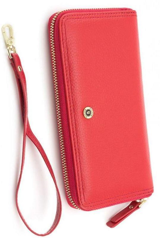 6a983c7d0e97 Женский кожаный красный кошелек boston s4001b red, цена - 630 грн ...