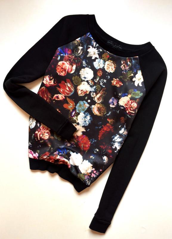 1bdef4b7c1a03 Seven sisters свитшот с цветочным принтом, цена - 159 грн, #19824926 ...