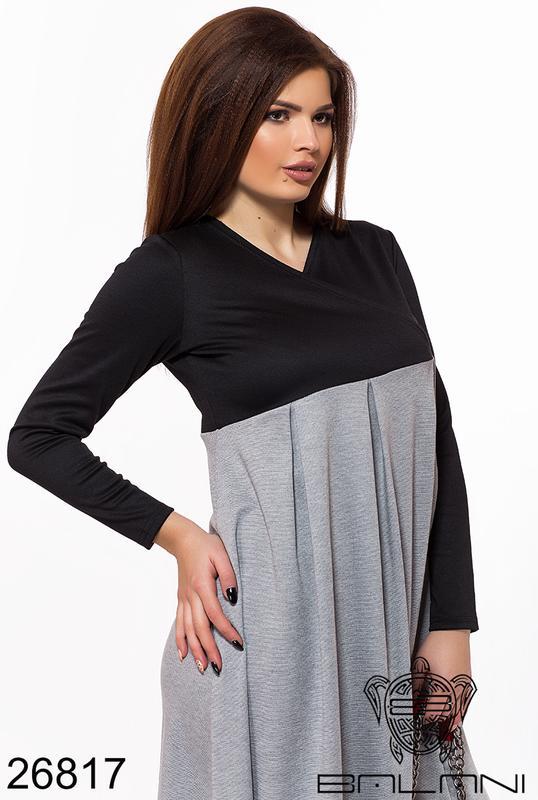 a090bbc344d ... Женское трикотажное длинное платье макси2 фото ...