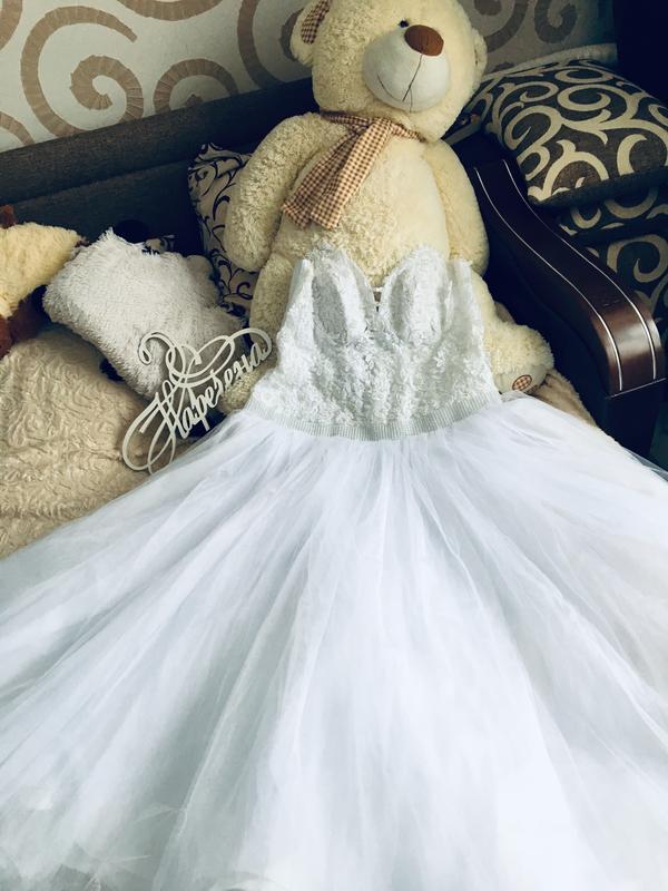 5349d6c0a1b06f4 Продам свадебное платье большого размера 52-56, цена - 2500 грн ...