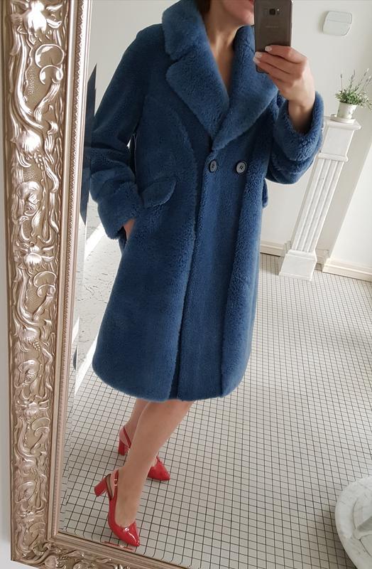Шуба пальто зима натуральный мех мериноса 100% овчины любой мороз woolmark1  ... 275b4bec42324