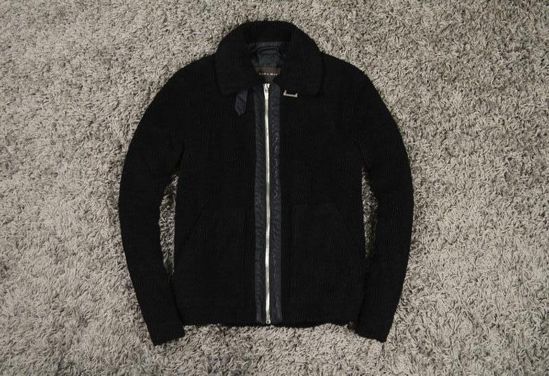 Мехавая куртка zara man ZARA e3ae4ba674214