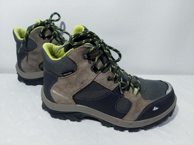 282c75dff316 Трекинговые кроссовки,ботинки quechua forclaz 500, 37-38р,стелька24см,  отличное состn за 380 ...